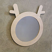 Для дома и интерьера ручной работы. Ярмарка Мастеров - ручная работа зеркало ZOO. Handmade.