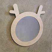 Для дома и интерьера handmade. Livemaster - original item mirror ZOO. Handmade.