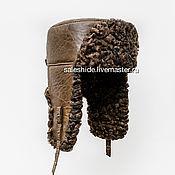 Мужская меховая шапка из меха каракуля