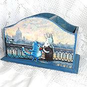 Канцелярские товары handmade. Livemaster - original item Pencil holder St. Petersburg vacation. Handmade.