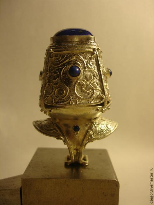 """Кольца ручной работы. Ярмарка Мастеров - ручная работа. Купить Кольцо """"Вечер в Китае"""". Handmade. Тёмно-синий, китай, синий"""