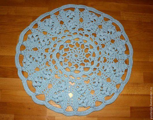 Текстиль, ковры ручной работы. Ярмарка Мастеров - ручная работа. Купить Коврик №4. Handmade. Серый, подарок женщине