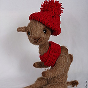 Куклы и игрушки ручной работы. Ярмарка Мастеров - ручная работа Верблюжонок Вениамин. Handmade.