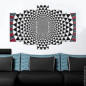 Картины и панно handmade. Livemaster - original item Geometric abstraction. Handmade.
