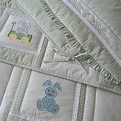 Работы для детей, handmade. Livemaster - original item Set for newborn Bumpers and Blanket