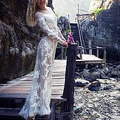 Свадебный салон handmade. Livemaster - original item Wedding dress lace
