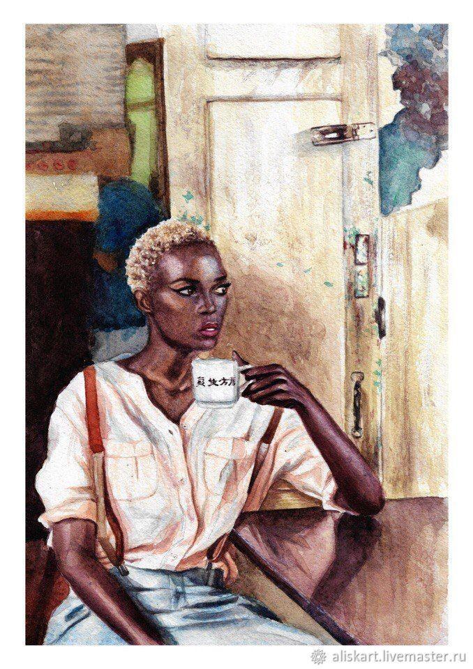 African girl, , Набережные Челны, Фото №1