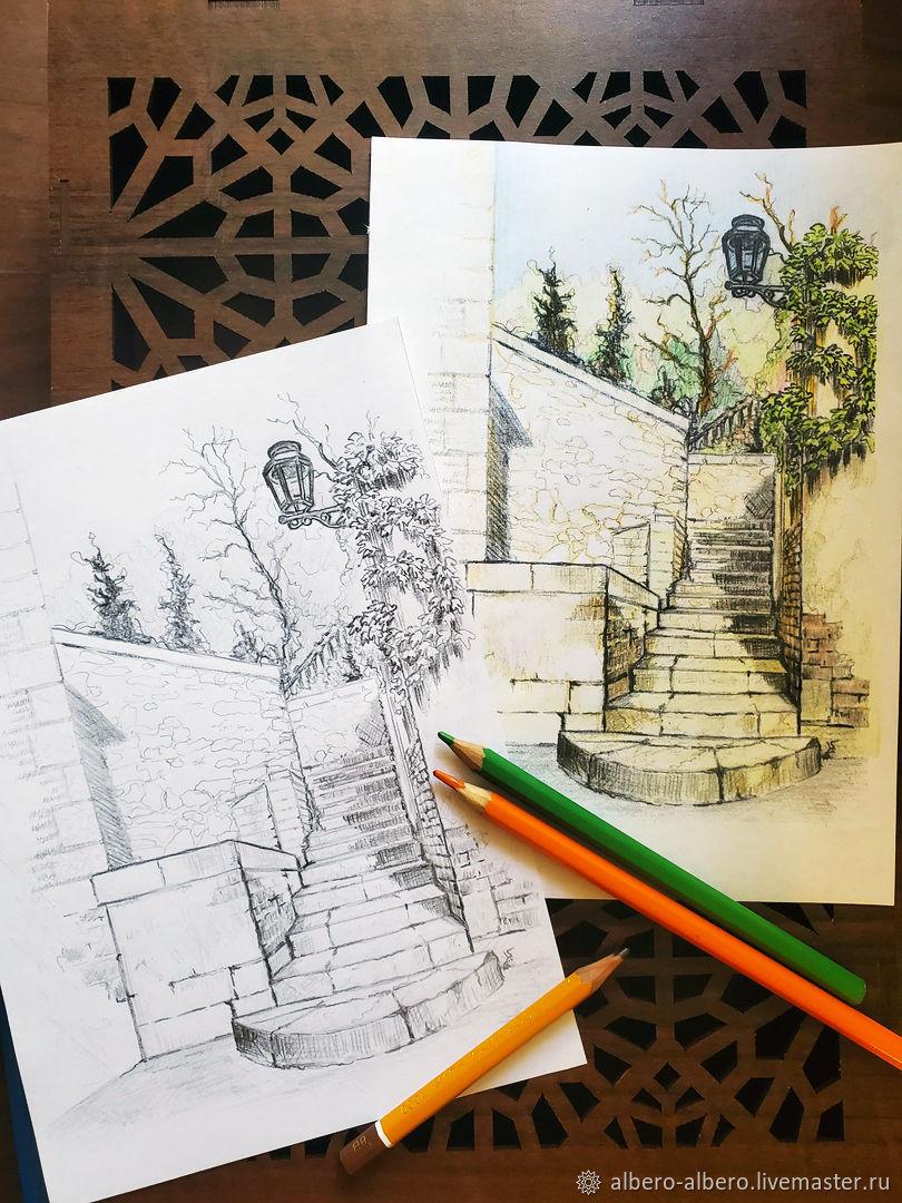 Прогулки по старинным местам, Картины, Козельск,  Фото №1