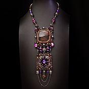 Украшения handmade. Livemaster - original item Necklace: Paris Night. Handmade.