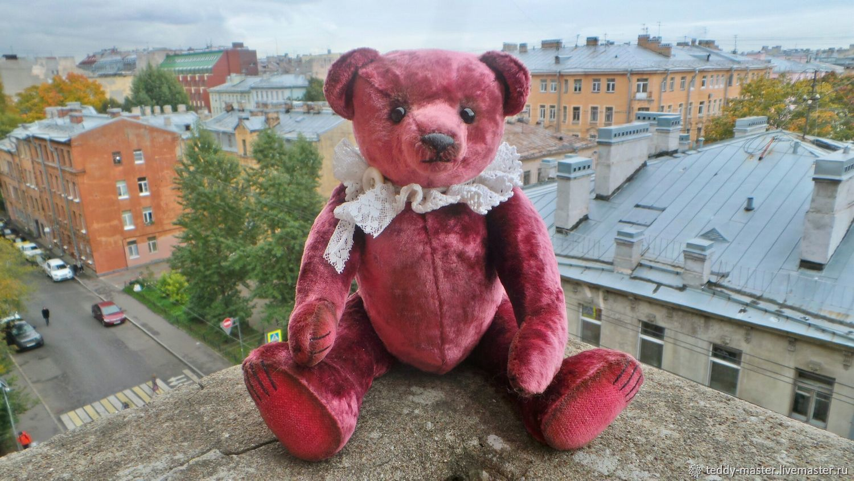 Мишка Тедди, Монпасье-2, 31 см, из антикварного плюша, Мишки Тедди, Санкт-Петербург,  Фото №1