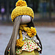 Коллекционные куклы ручной работы. Ярмарка Мастеров - ручная работа. Купить Тиффани. Handmade. Интерьерная кукла, стильный подарок