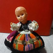 Куклы и игрушки ручной работы. Ярмарка Мастеров - ручная работа Куколка винтажная. Handmade.