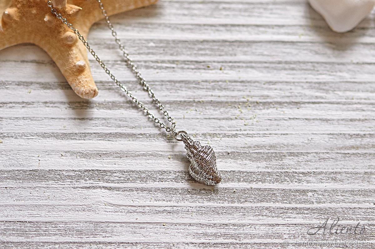 Thin necklace ' Shell', Chain, Moscow,  Фото №1