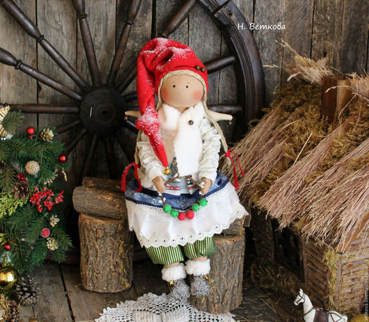 Интерьерные текстильные коллекционные куклы - рождественские ангелы. Отличный подарок на новый год, рождество. Подарите ангела маме, сестре, детям, любимой женщине, подруге.