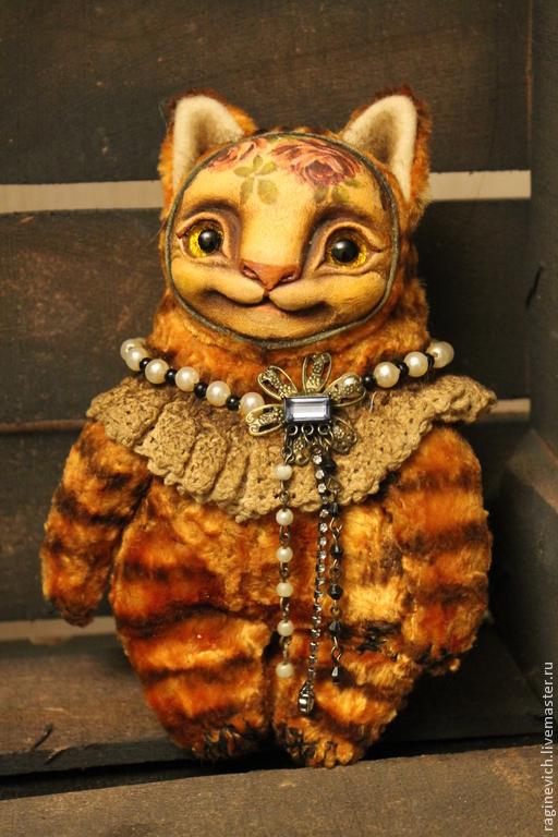 Мишки Тедди ручной работы. Ярмарка Мастеров - ручная работа. Купить кот Боня. Handmade. Рыжий, рыжее счастье, опилки