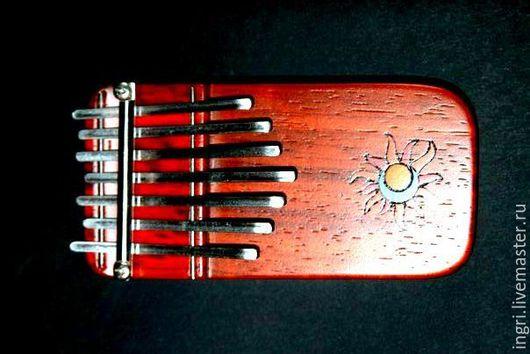 Ударные инструменты ручной работы. Ярмарка Мастеров - ручная работа. Купить Авторская калимба .. Handmade. Калимба, музыкальная игрушка, африканский