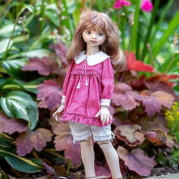 Куклы и игрушки ручной работы. Ярмарка Мастеров - ручная работа Фарфоровая шарнирная кукла. Handmade.