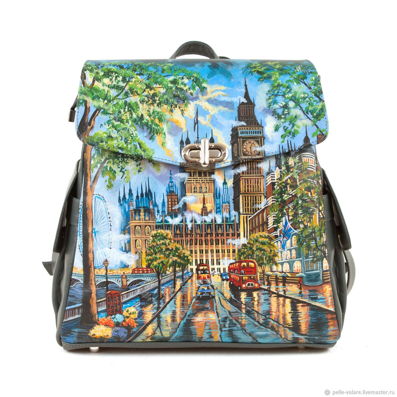 Women's backpack 'London', Backpacks, St. Petersburg,  Фото №1
