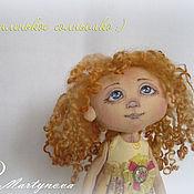 Куклы и игрушки handmade. Livemaster - original item Small SUN.Doll, Textile, Interior Copyright.. Handmade.