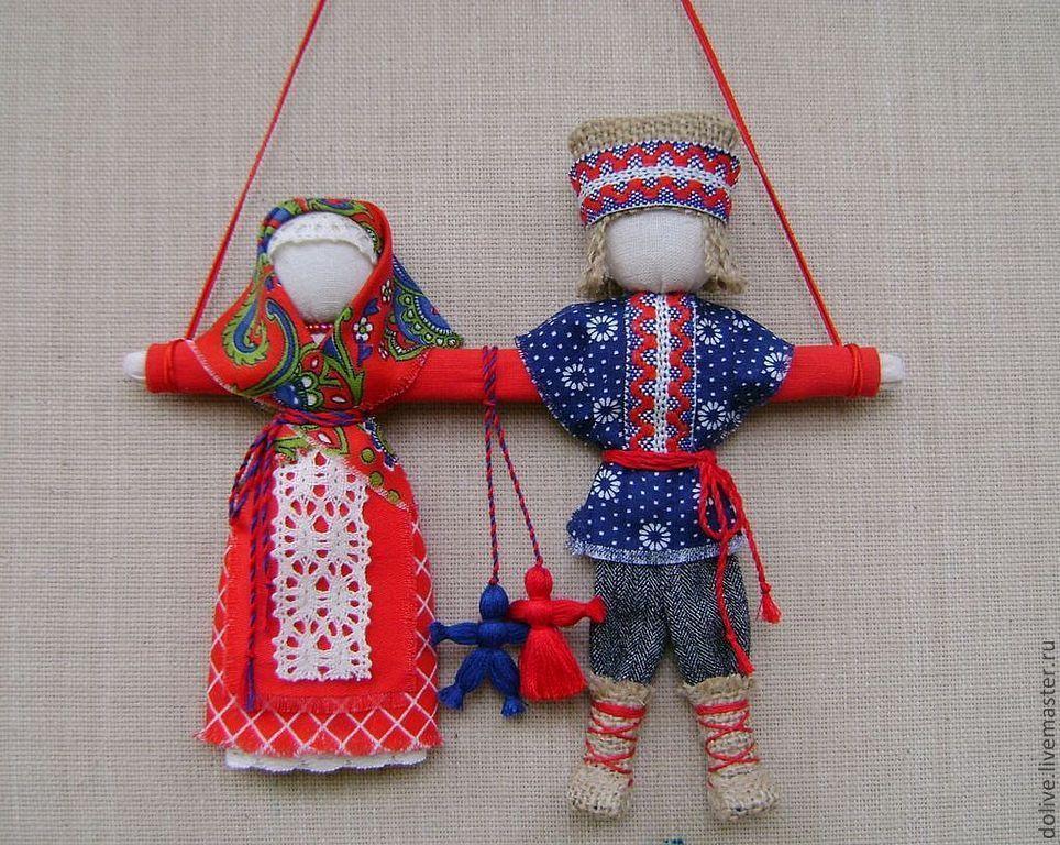 Куклы обереги для молодоженов своими руками 63