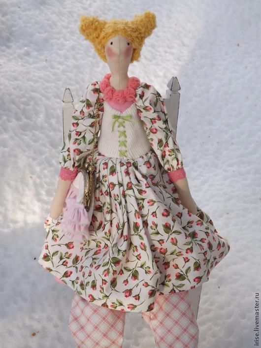 Куклы Тильды ручной работы. Ярмарка Мастеров - ручная работа. Купить Кукла-Тильда Розы на снегу. Handmade. Кукла Тильда