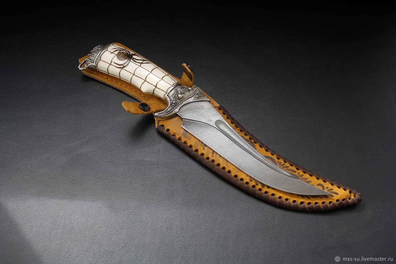 Spider-Scorpion Knife (bone), Knives, Tyumen,  Фото №1