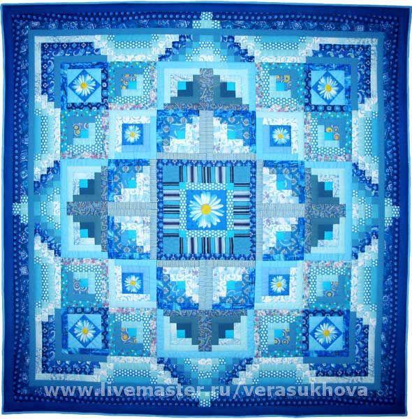 Quilt the 'sky' 220h220cm, Blanket, Ivanovo,  Фото №1