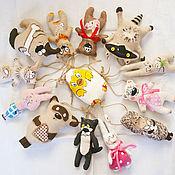 Куклы и игрушки ручной работы. Ярмарка Мастеров - ручная работа Мини-игрушки. Handmade.