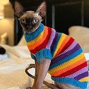 Зоотовары handmade. Livemaster - original item Sweater striped. Handmade.