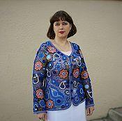 """Одежда ручной работы. Ярмарка Мастеров - ручная работа Жакет """"Джайпур"""". Handmade."""
