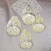 Для дома и интерьера handmade. Livemaster - original item Weightlessness Ceiling Lamp. Handmade.