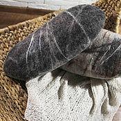 """Для дома и интерьера ручной работы. Ярмарка Мастеров - ручная работа Подушка """"Войлочный валун"""". Handmade."""