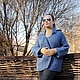 """Пиджаки, жакеты ручной работы. Ярмарка Мастеров - ручная работа. Купить Жакет """"Пасифик Оушен"""". Handmade. Голубой, жакет спицами"""