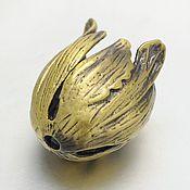 Материалы для творчества handmade. Livemaster - original item Cap limit RCA (Bud) antique bronze (art. 2331). Handmade.