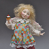 Куклы и игрушки ручной работы. Ярмарка Мастеров - ручная работа Ангел Сладкоежка со скидкой. Handmade.