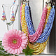 Set 'solar city' a massive necklace and earrings, Jewelry Sets, Sarov,  Фото №1