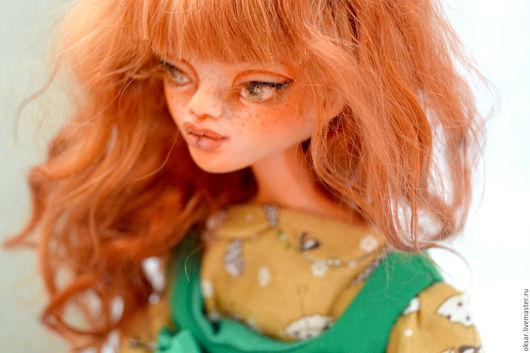 Коллекционные куклы ручной работы. Ярмарка Мастеров - ручная работа. Купить Рыжая авторская кукла желанница. Artdoll. Handmade. осень
