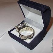 Свадебный салон ручной работы. Ярмарка Мастеров - ручная работа Обручальные кольца 009. Handmade.