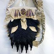 Фен-шуй и эзотерика ручной работы. Ярмарка Мастеров - ручная работа Лапа Медведя оберег - сумка. Handmade.