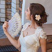 Свадебный салон ручной работы. Ярмарка Мастеров - ручная работа Веер 61. Handmade.