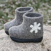 Обувь ручной работы. Ярмарка Мастеров - ручная работа Детские валеночки. Handmade.