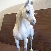 Куклы и игрушки handmade. Livemaster - original item felted horse