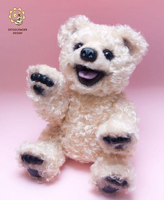 Мишки Тедди ручной работы. Ярмарка Мастеров - ручная работа. Купить Медведь Бадди. Handmade. Бежевый, милый подарок