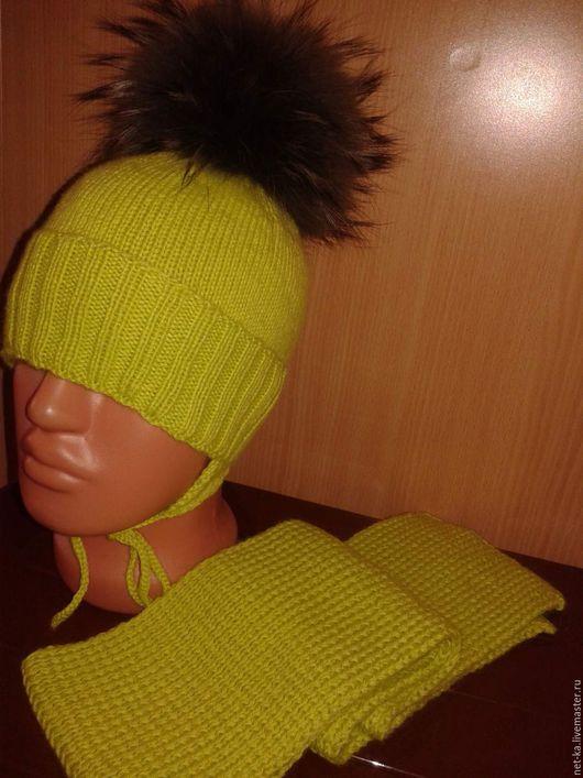 Одежда унисекс ручной работы. Ярмарка Мастеров - ручная работа. Купить Комплект зима!!! (мальчик -девочка). Handmade. Груша, шарф