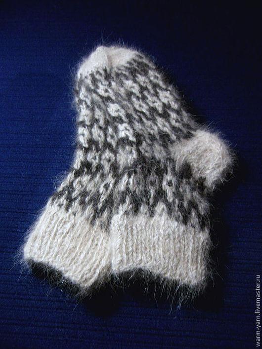 Носки, Чулки ручной работы. Ярмарка Мастеров - ручная работа. Купить Носки женские из собачьей шерсти. Handmade. Носки женские