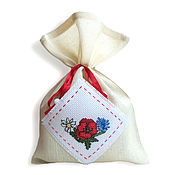 Для дома и интерьера handmade. Livemaster - original item Pouch for gift Mac, gift bag with embroidery.. Handmade.