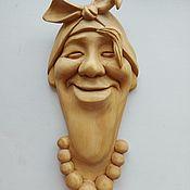 Русский стиль handmade. Livemaster - original item Wall mask