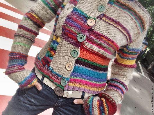 Кофты и свитера ручной работы. Ярмарка Мастеров - ручная работа. Купить теПло. Handmade. Вязайн, кофта женская