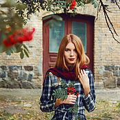 """Одежда ручной работы. Ярмарка Мастеров - ручная работа Платье """"Красная рябина"""".. Handmade."""