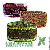 Украшения handmade. Livemaster - original item Bracelet nettle For the mood. Handmade.